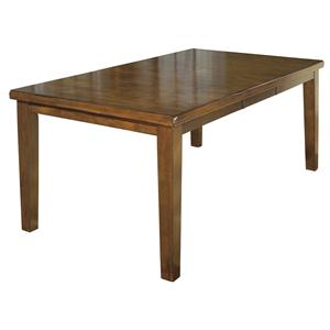Casual Rectangular Butterfly Leaf Dining Table