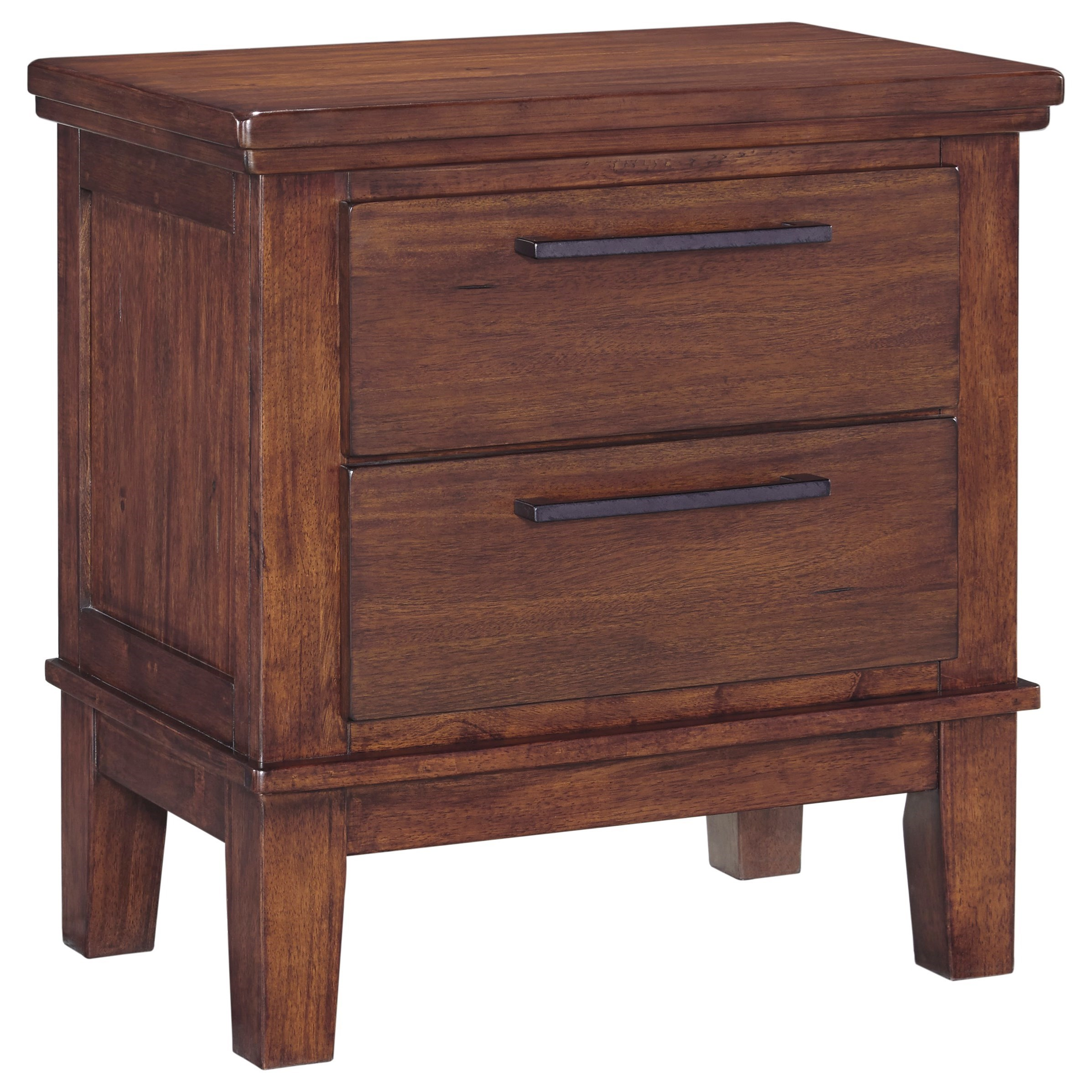 Ralene 2-Drawer Nightstand by Signature Design by Ashley at Miller Home