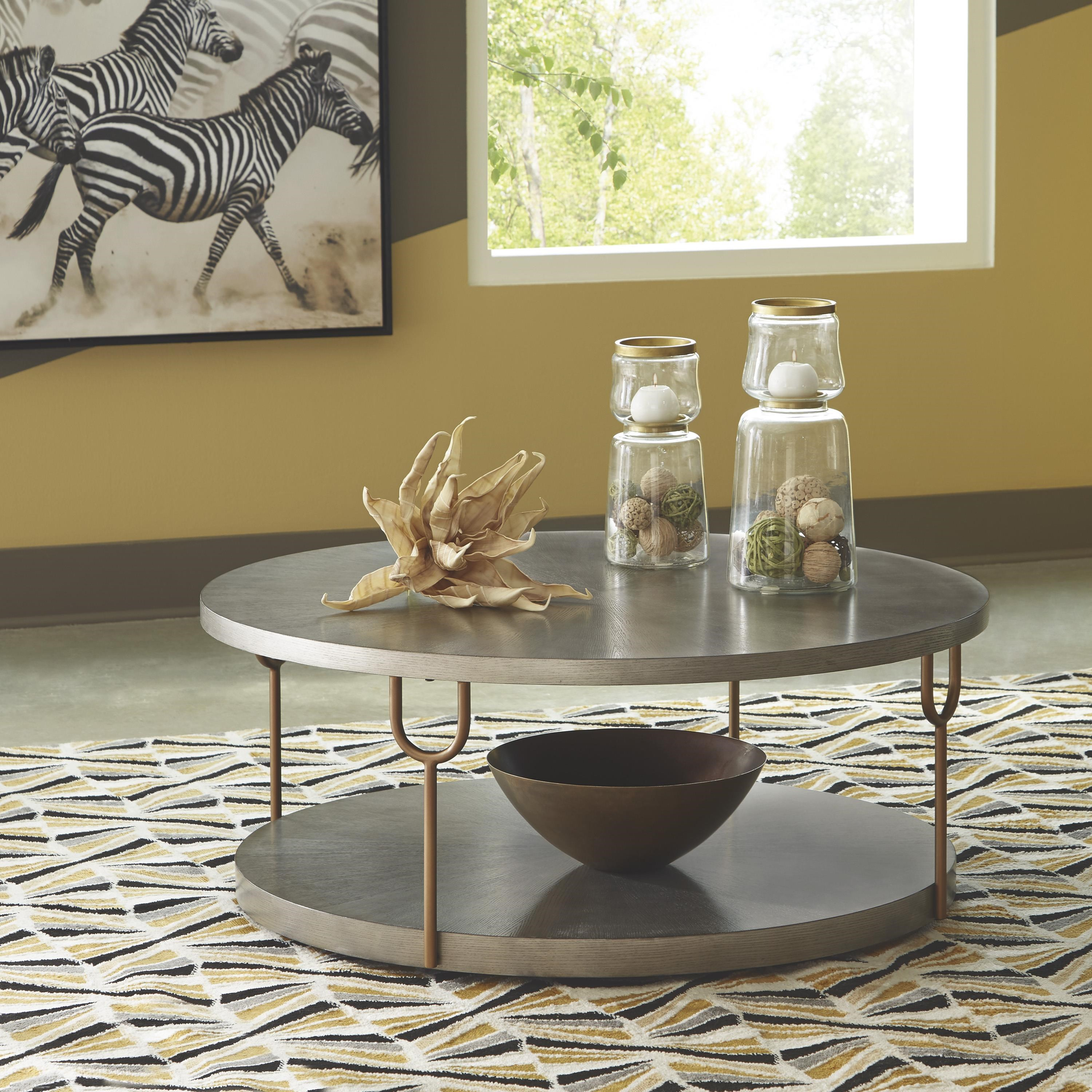 Ranoka 3 Piece Coffee Table Set by Signature Design by Ashley at Sam Levitz Outlet