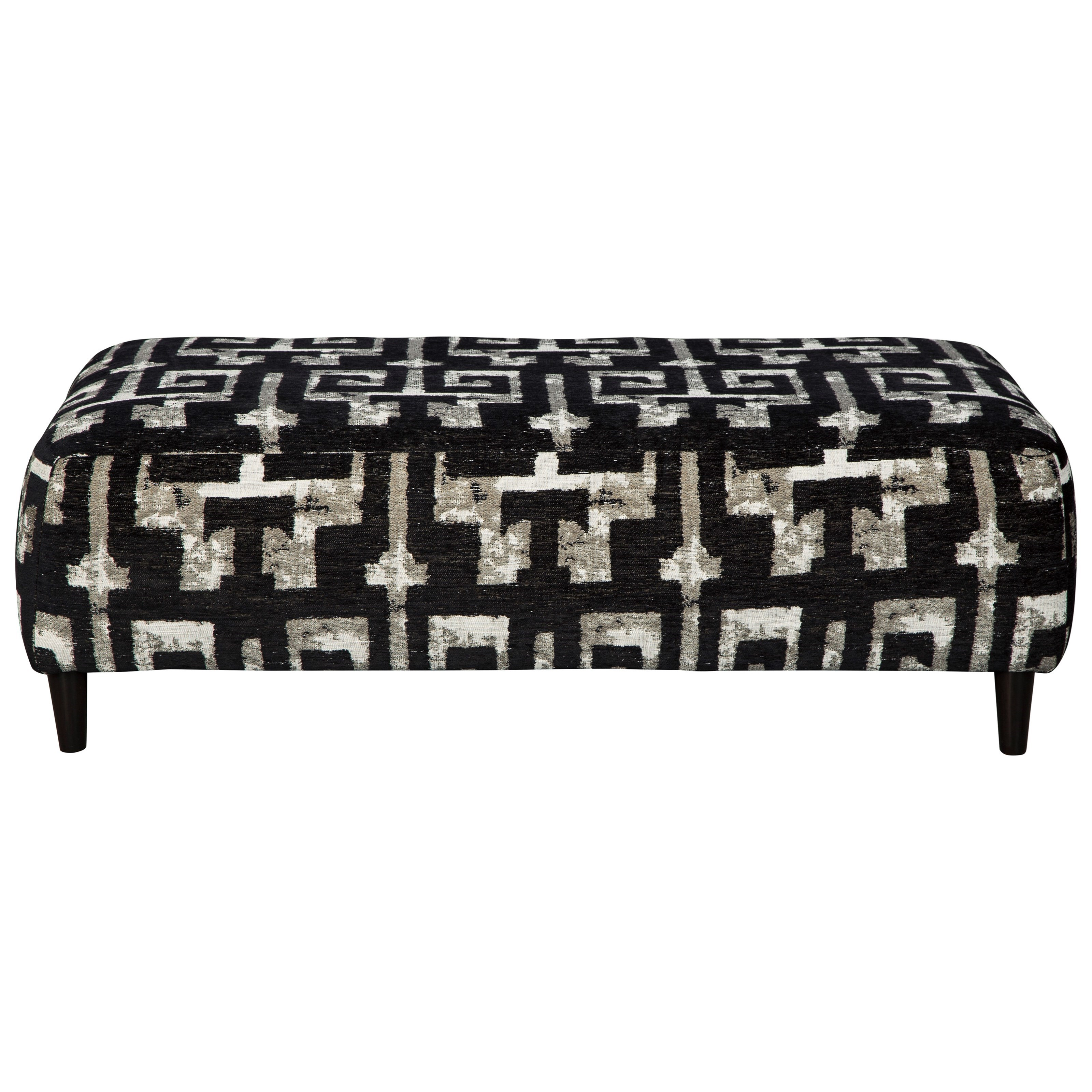 Ravenstone Oversized Accent Ottoman by Signature Design by Ashley at Northeast Factory Direct