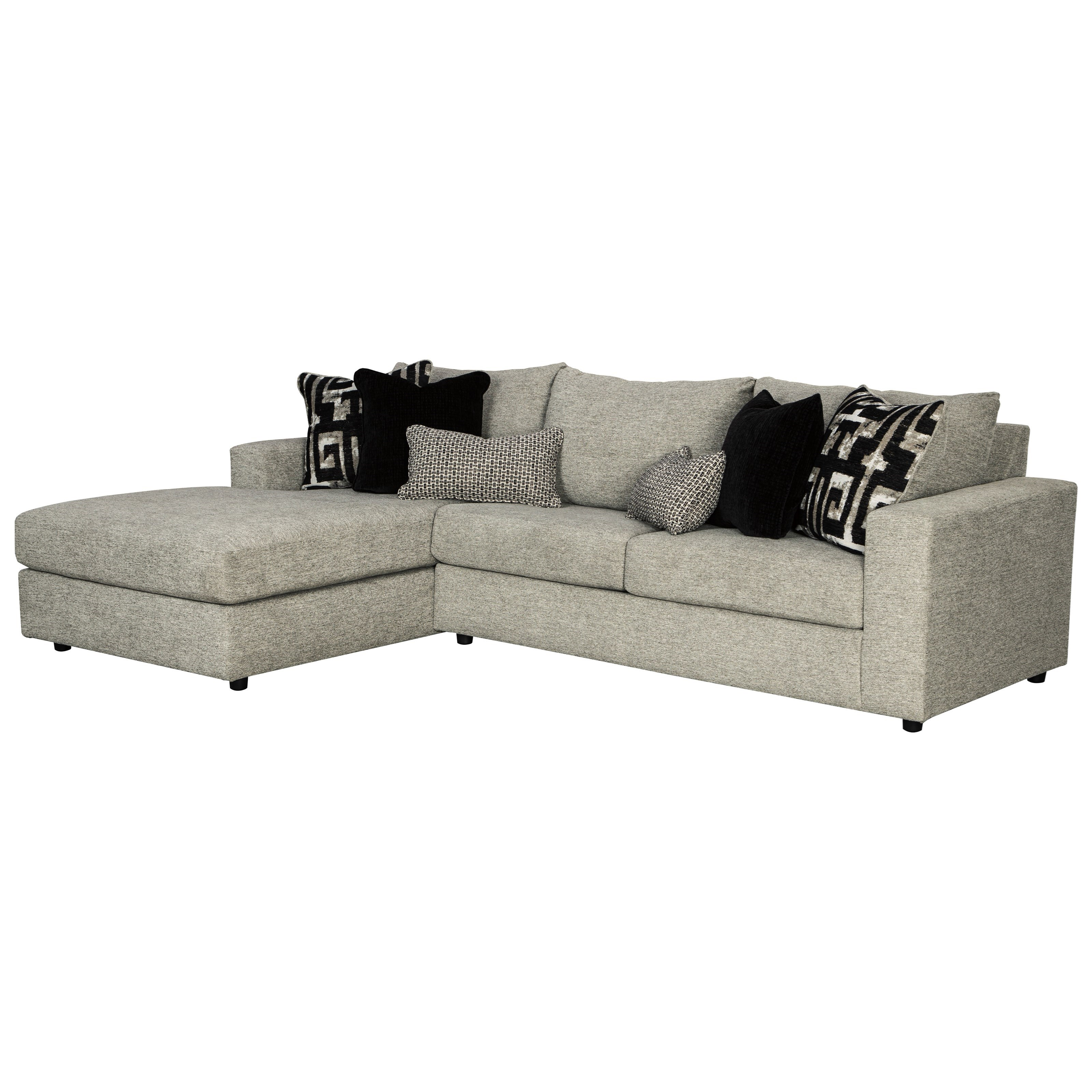 Ravenstone 3-Seat Sectional Sofa w/ LAF Chaise by Signature at Walker's Furniture