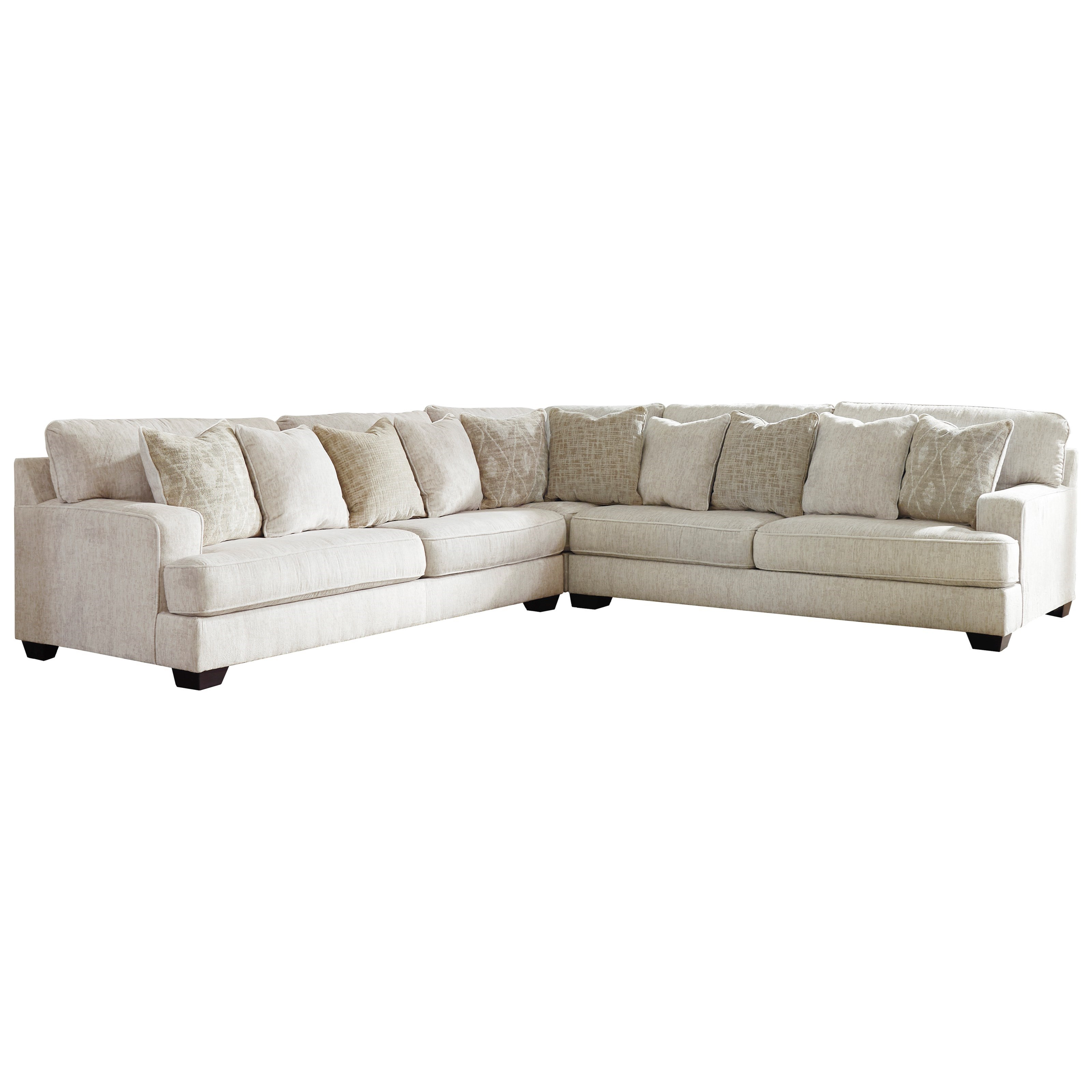 Rawcliffe 3-Piece Sectional by Signature Design by Ashley at Beck's Furniture