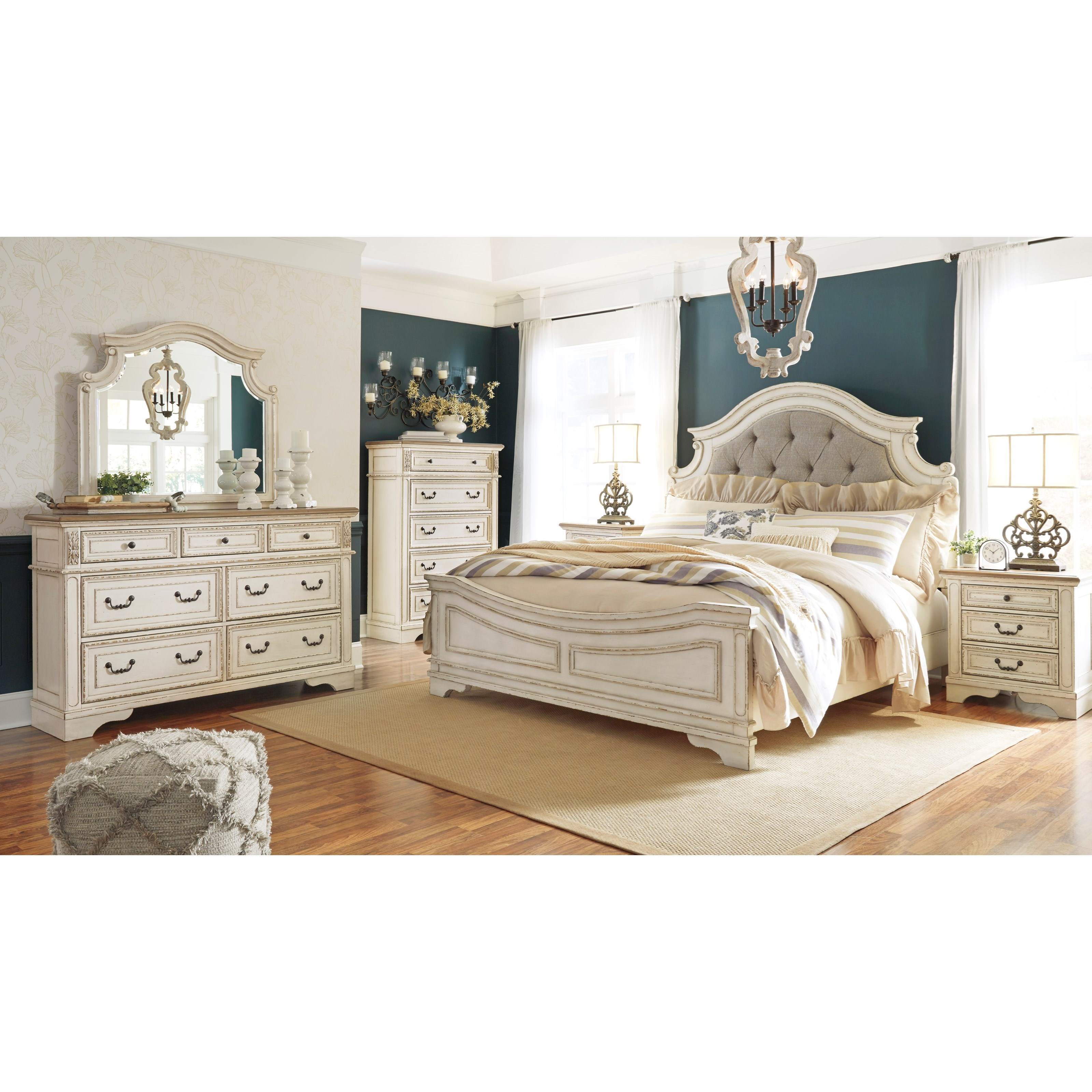 Realyn Queen Bedroom Group by Signature Design by Ashley at Northeast Factory Direct