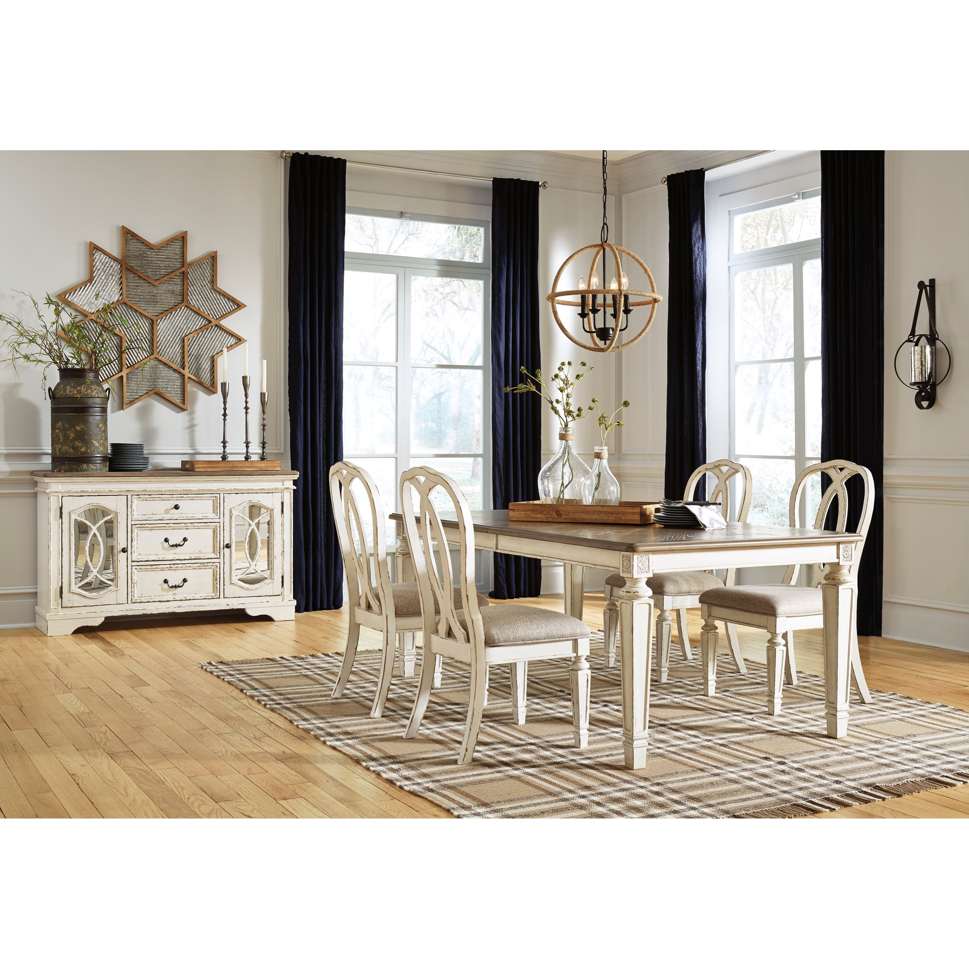 Realyn Casual Dining Room Group by Signature Design by Ashley at Standard Furniture