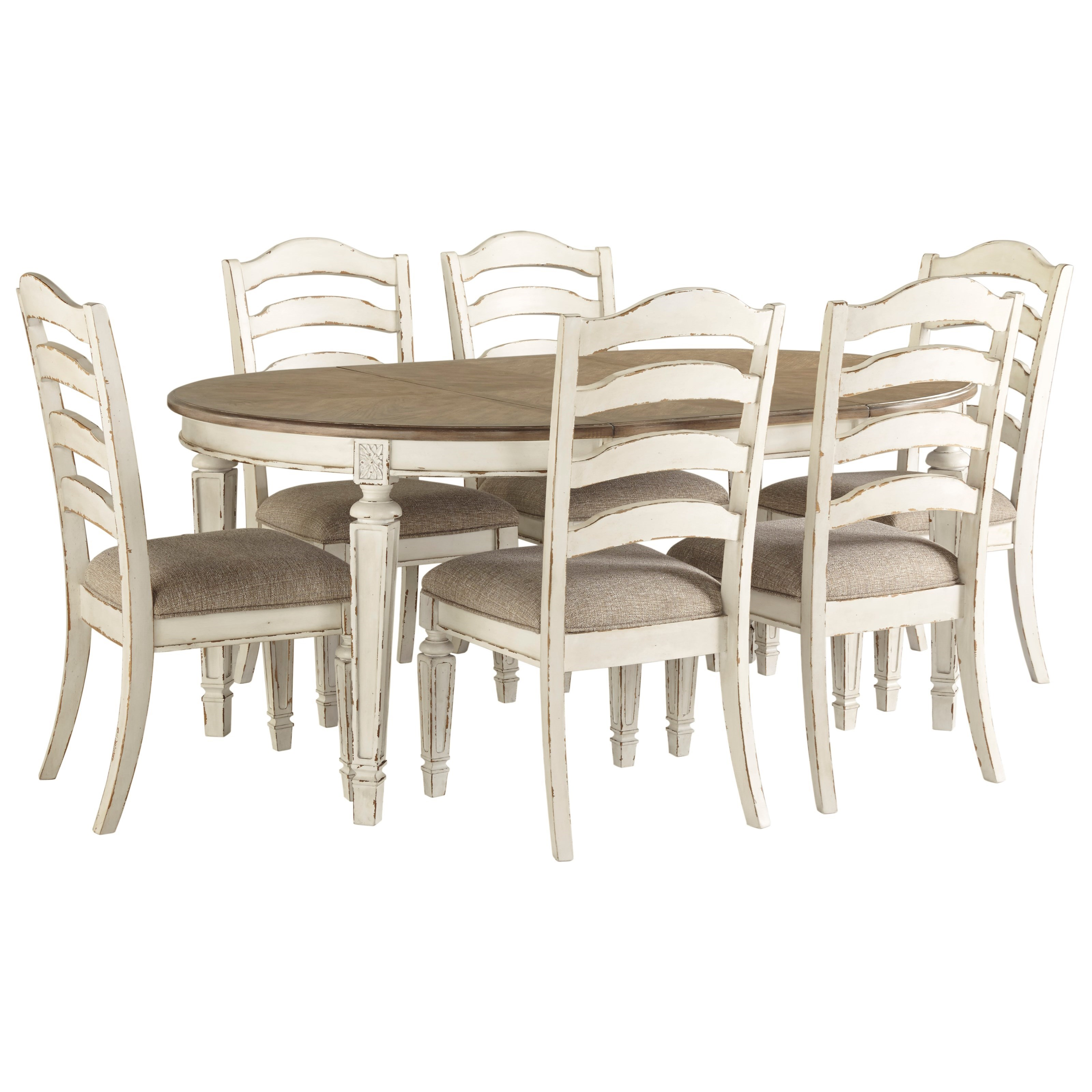Renee 7-Piece Table and Chair Set at Rotmans