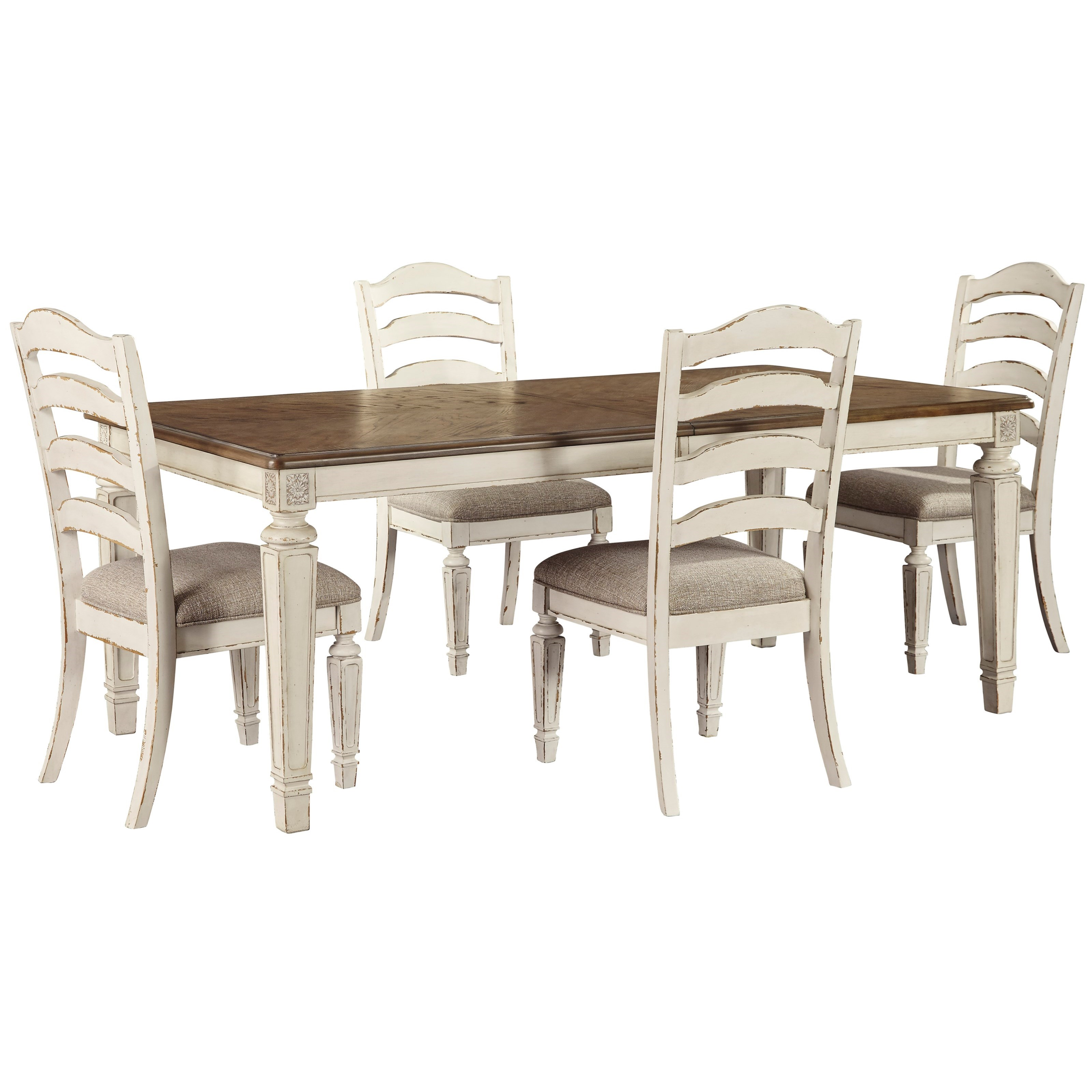 Realyn 5-Piece Dining Set by Signature Design by Ashley at HomeWorld Furniture
