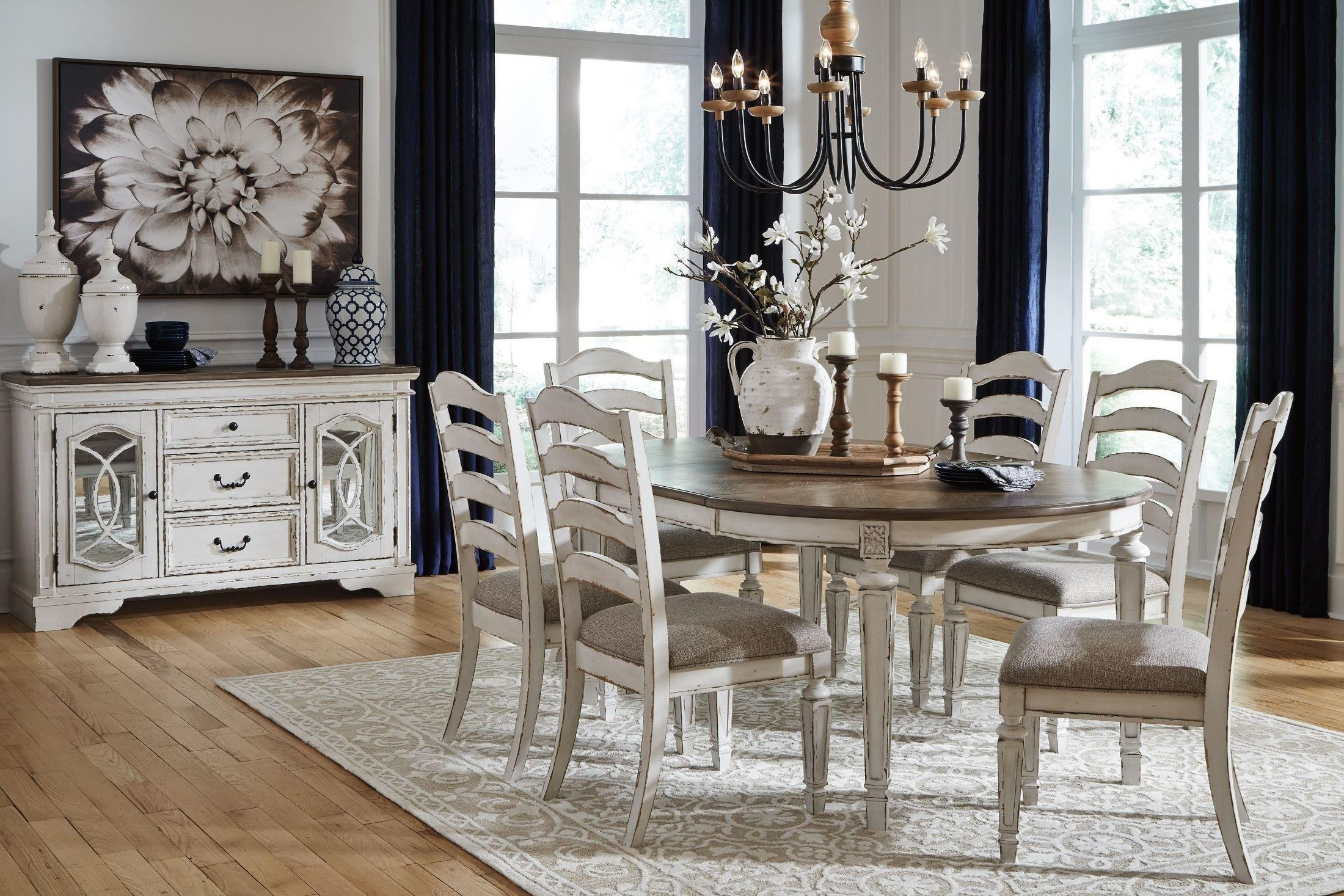 Realyn 5 Piece Dining Set by Signature Design by Ashley at Darvin Furniture