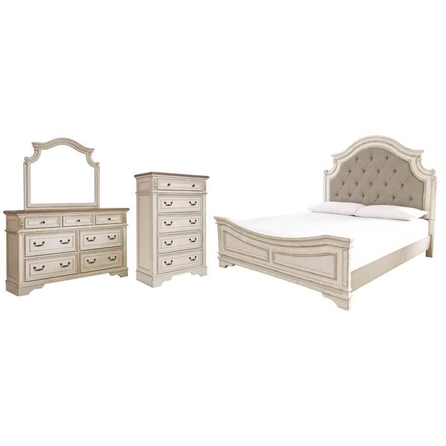 Realyn Queen Bedroom Group by Signature Design by Ashley at Household Furniture
