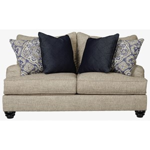 Loveseat with English Arms