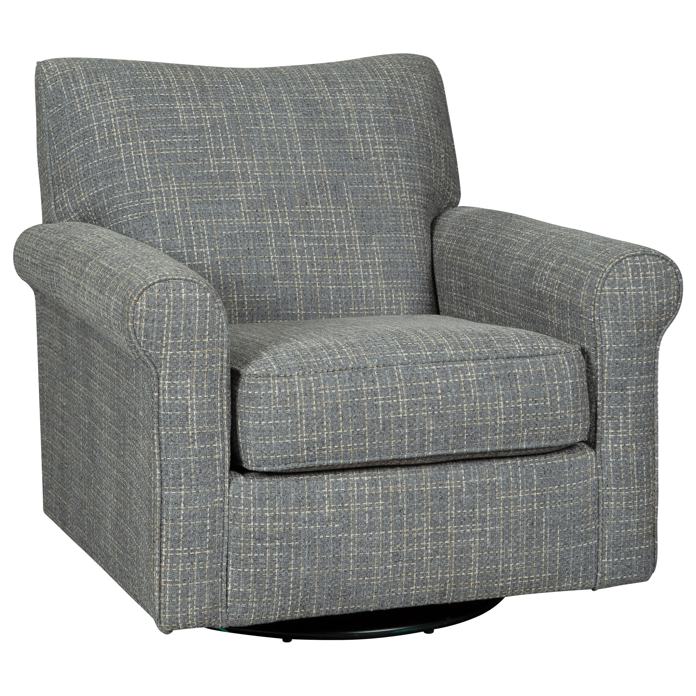 Renley Swivel Glider Accent Chair by Ashley (Signature Design) at Johnny Janosik