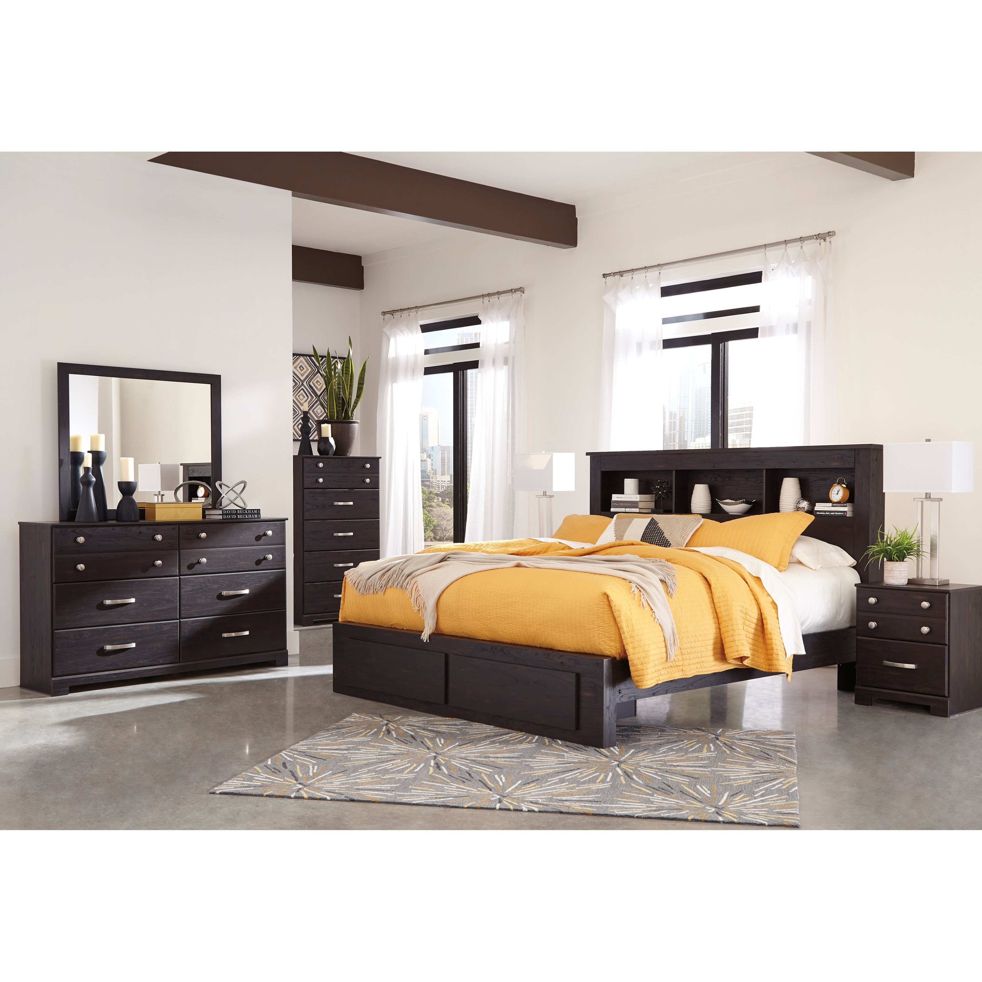 Reylow King Bedroom Group by Signature Design by Ashley at Furniture Barn