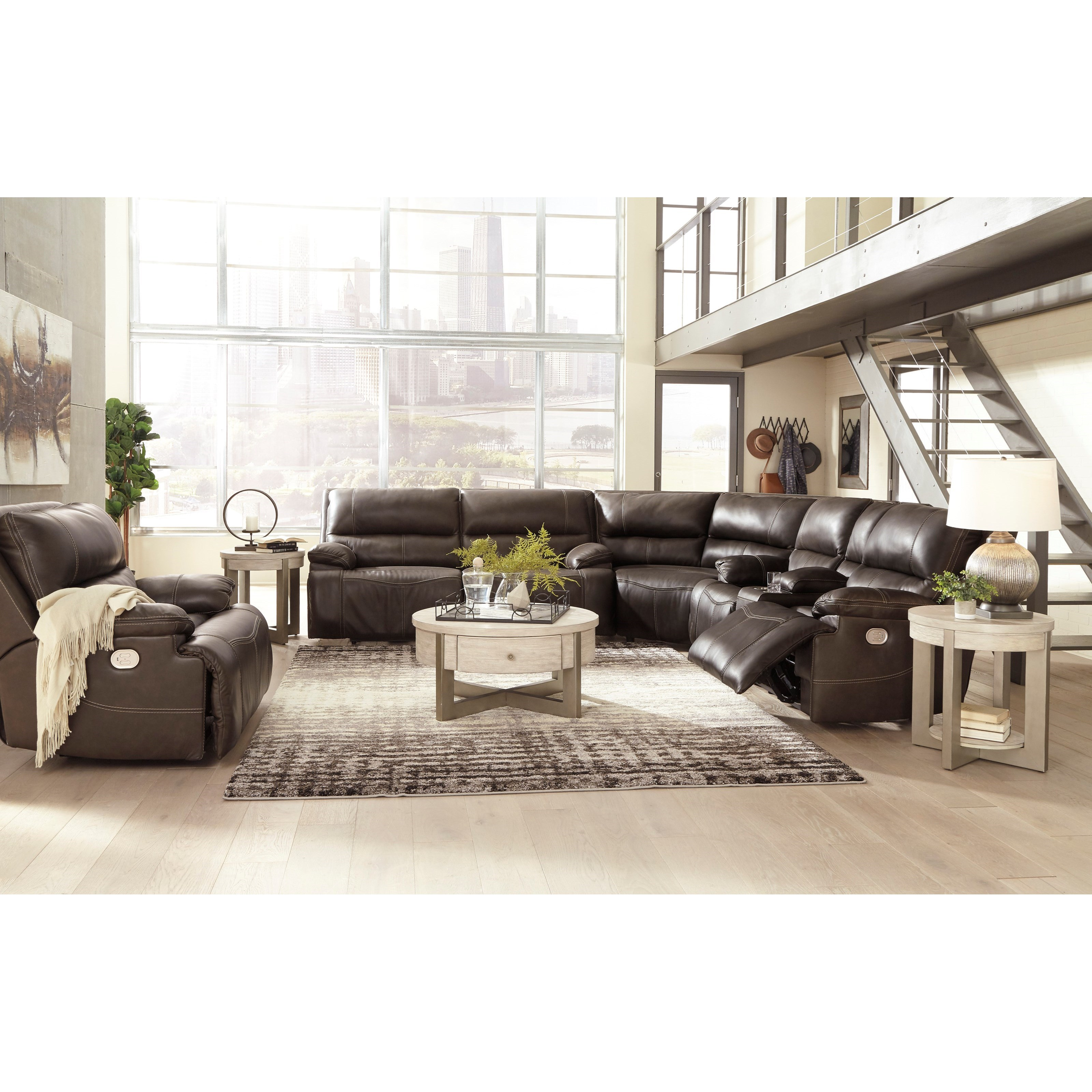 Ricmen Power Reclining Living Room Group by Signature Design by Ashley at Godby Home Furnishings