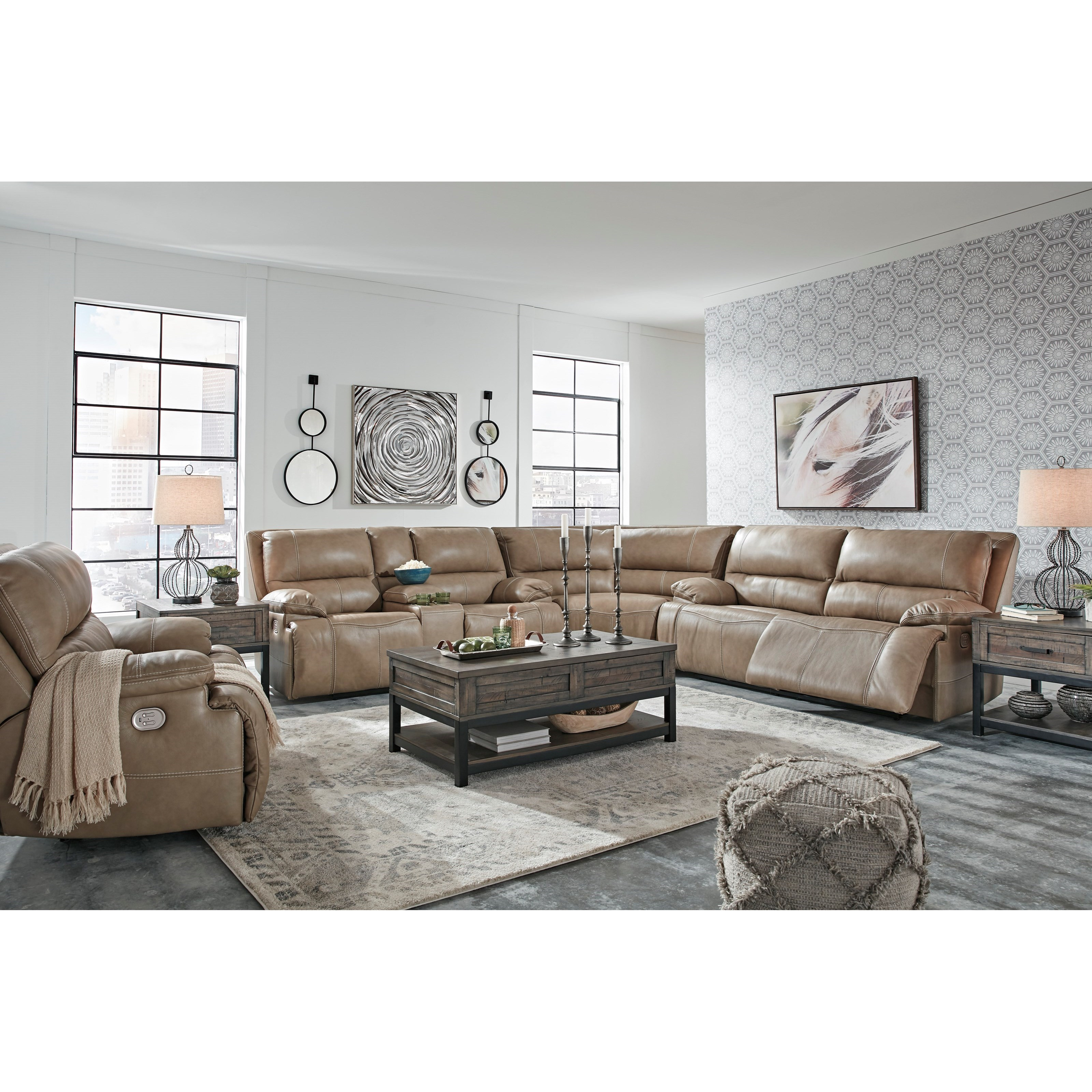 Ricmen Power Reclining Living Room Group by Vendor 3 at Becker Furniture