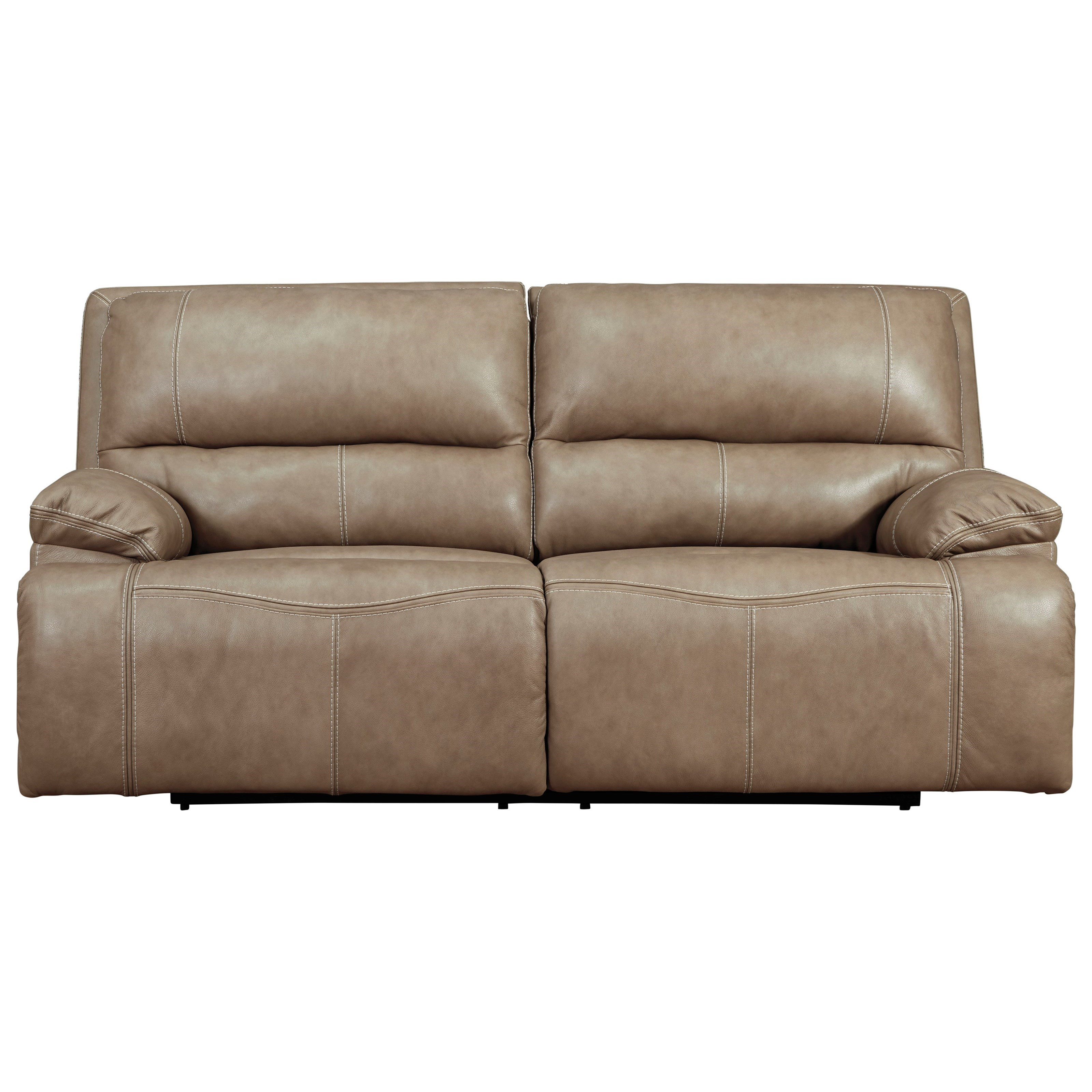 Ricmen 2-Seat Power Reclining Sofa w/ Adj Headrests by Signature Design by Ashley at Beck's Furniture