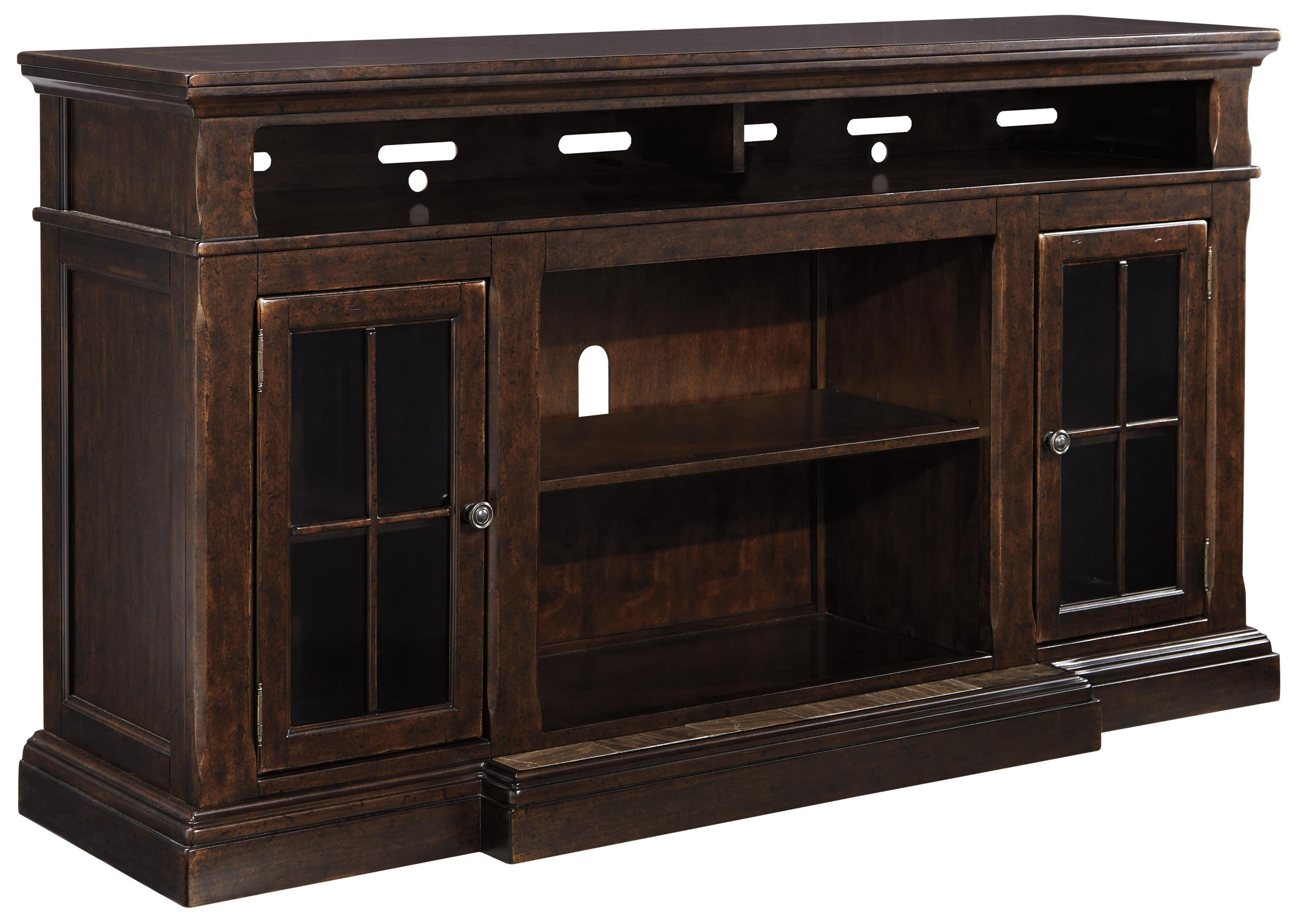 Roddinton Extra Large TV Stand by Signature Design by Ashley at Beck's Furniture
