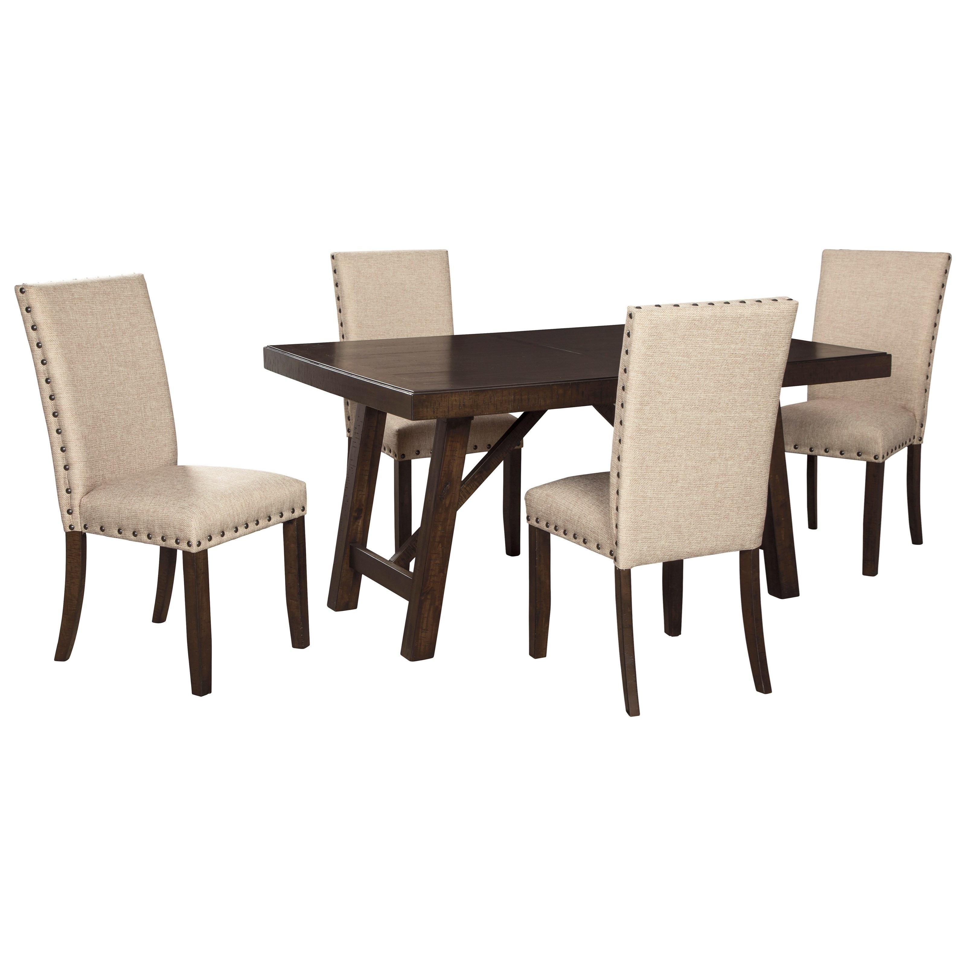 Rokane Dining Table Set for Four by Ashley (Signature Design) at Johnny Janosik