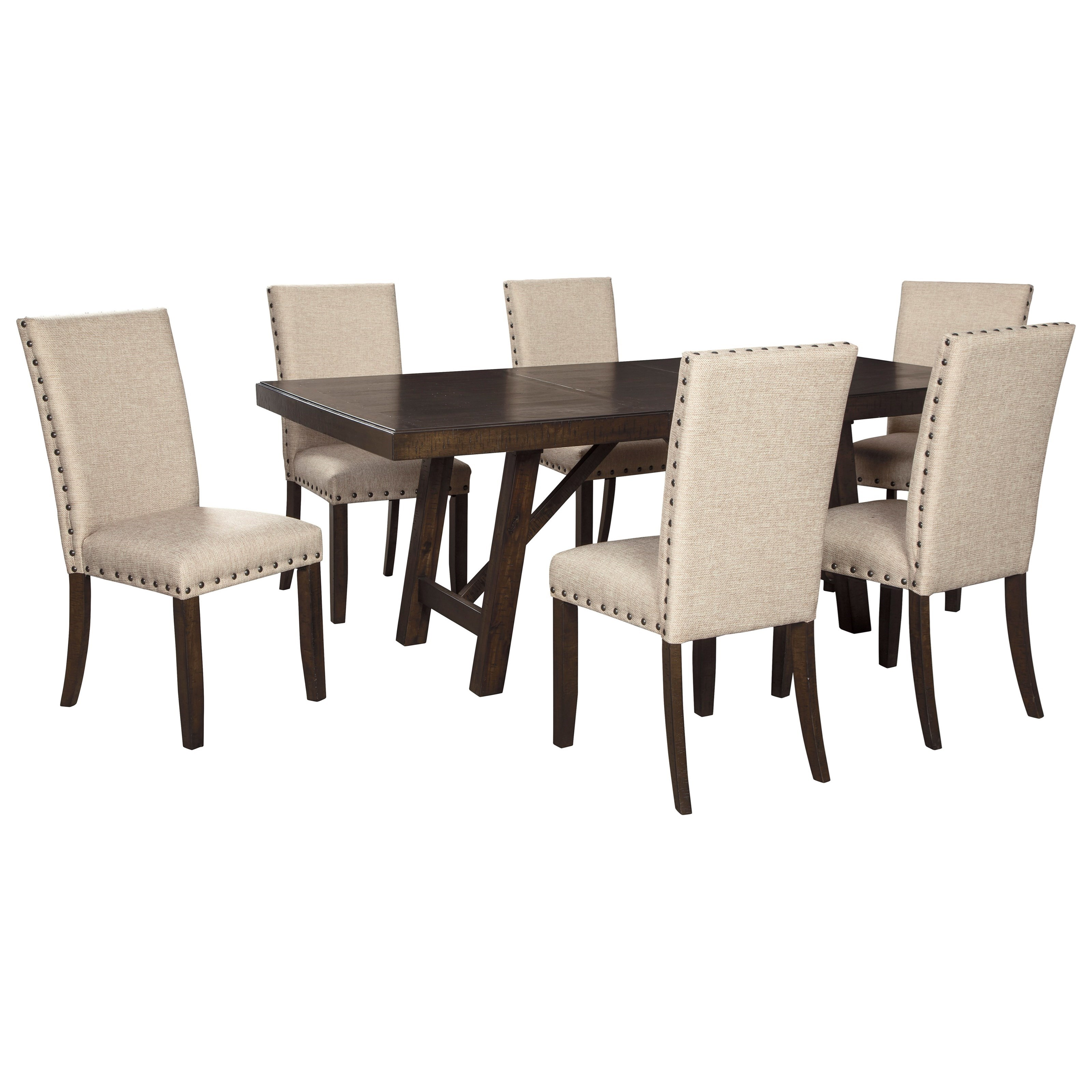 Rokane Dining Table Set for Six by Signature Design by Ashley at Northeast Factory Direct