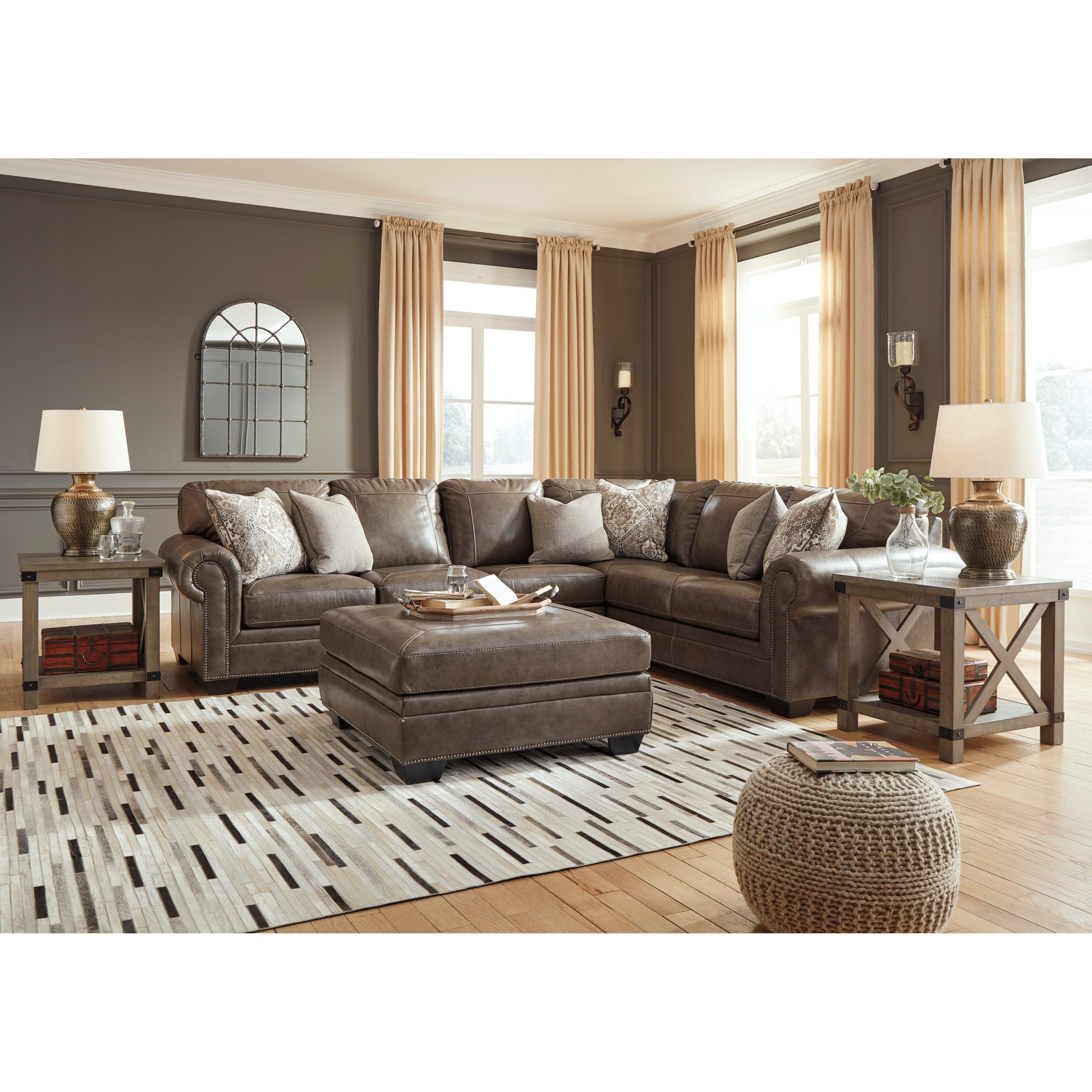 Roleson Stationary Living Room Group by Signature Design by Ashley at Zak's Warehouse Clearance Center