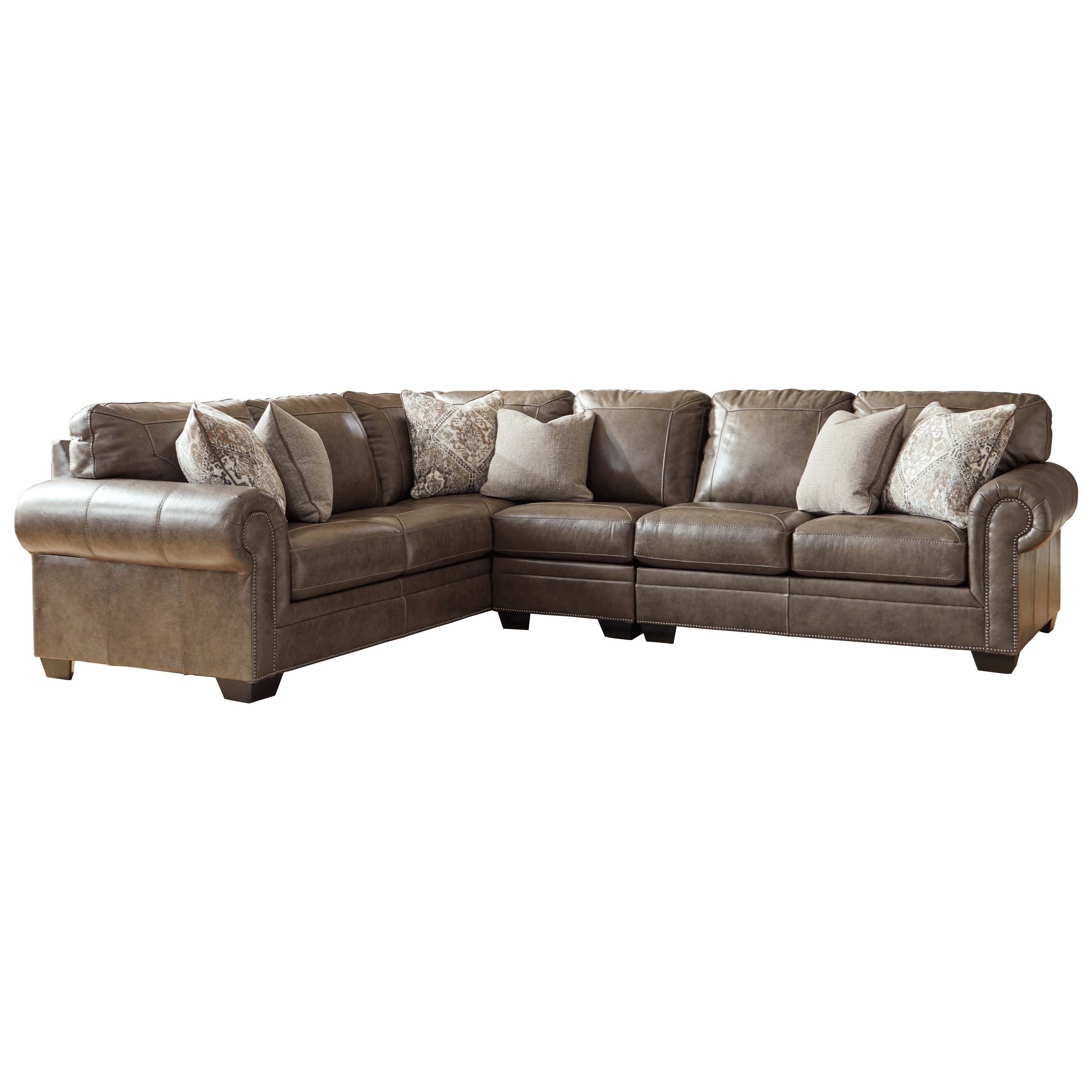 Roleson 3-Piece Sectional  by Ashley (Signature Design) at Johnny Janosik