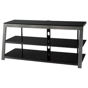 Contemporary Metal/Glass TV Stand