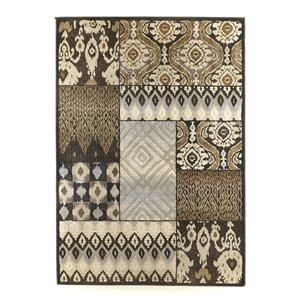 Tribal Quilt - Charcoal Medium Rug