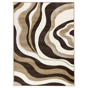 Signature Design by Ashley Furniture Contemporary Area Rugs Rivoletto - Brown  Medium Rug