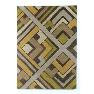 Signature Design by Ashley Furniture Contemporary Area Rugs Casbah - Citrus Medium Rug