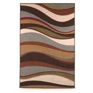 Signature Design by Ashley Contemporary Area Rugs Tidal - Multi Small Rug