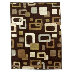Signature Design by Ashley Furniture Contemporary Area Rugs Sandia - Chocolate Medium Rug