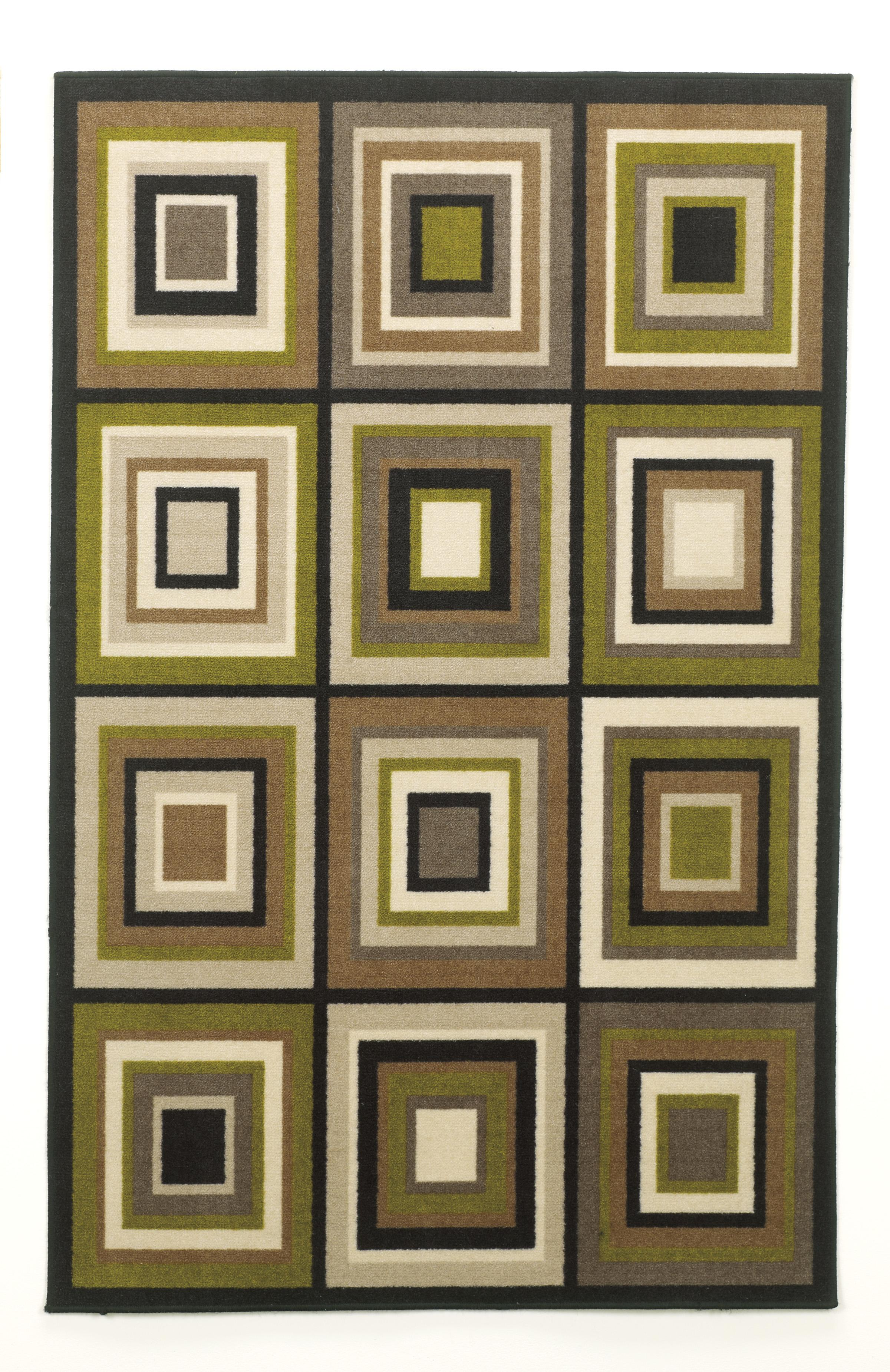 Contemporary Area Rugs Chari - Lime Small Rug by Signature Design at Fisher Home Furnishings