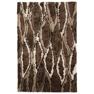 Signature Design by Ashley Contemporary Area Rugs Calan Brown/Gray Large Rug