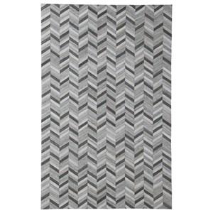 Signature Design by Ashley Contemporary Area Rugs Gareth Black/Gray Large Rug