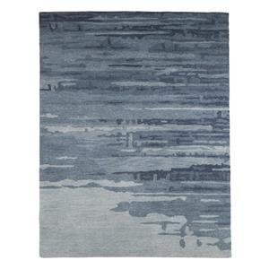 Signature Design by Ashley Furniture Contemporary Area Rugs Patterned - Blue/Gray Medium Rug