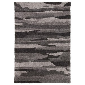 Signature Design by Ashley Contemporary Area Rugs Pasternak Black/Gray Large Rug