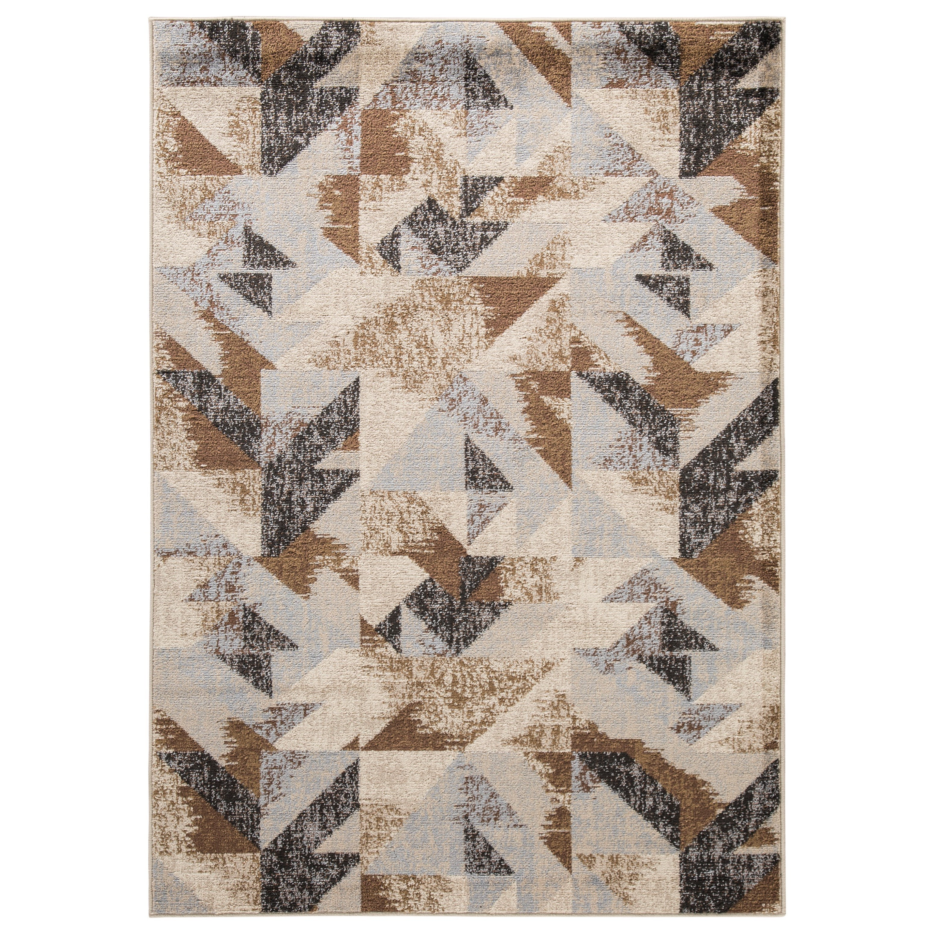 Contemporary Area Rugs Jun Multi Medium Rug by Signature at Walker's Furniture