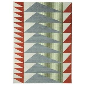 Signature Design by Ashley Contemporary Area Rugs Cailee Multi Medium Rug