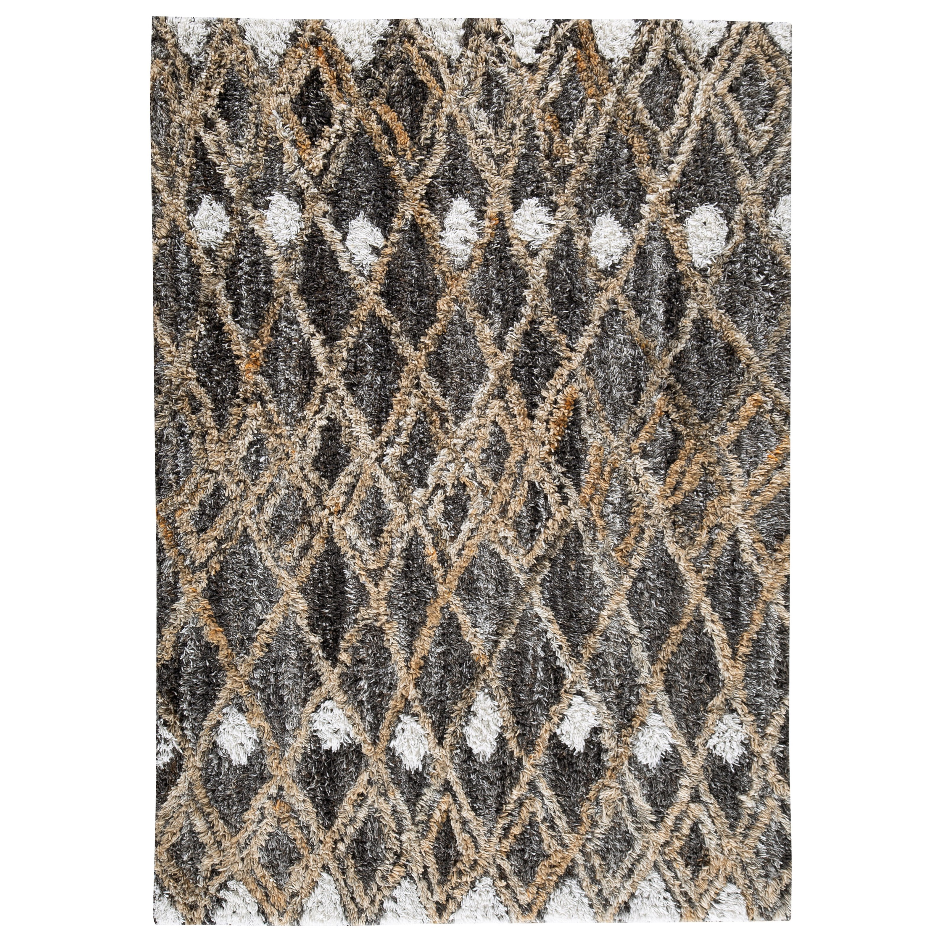 Contemporary Area Rugs Vinmore Tan/Gray Medium Rug by Signature at Walker's Furniture