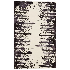 Signature Design by Ashley Contemporary Area Rugs Indiana White/Purple Large Rug