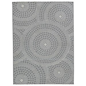 Jesimae Gray Medium Rug