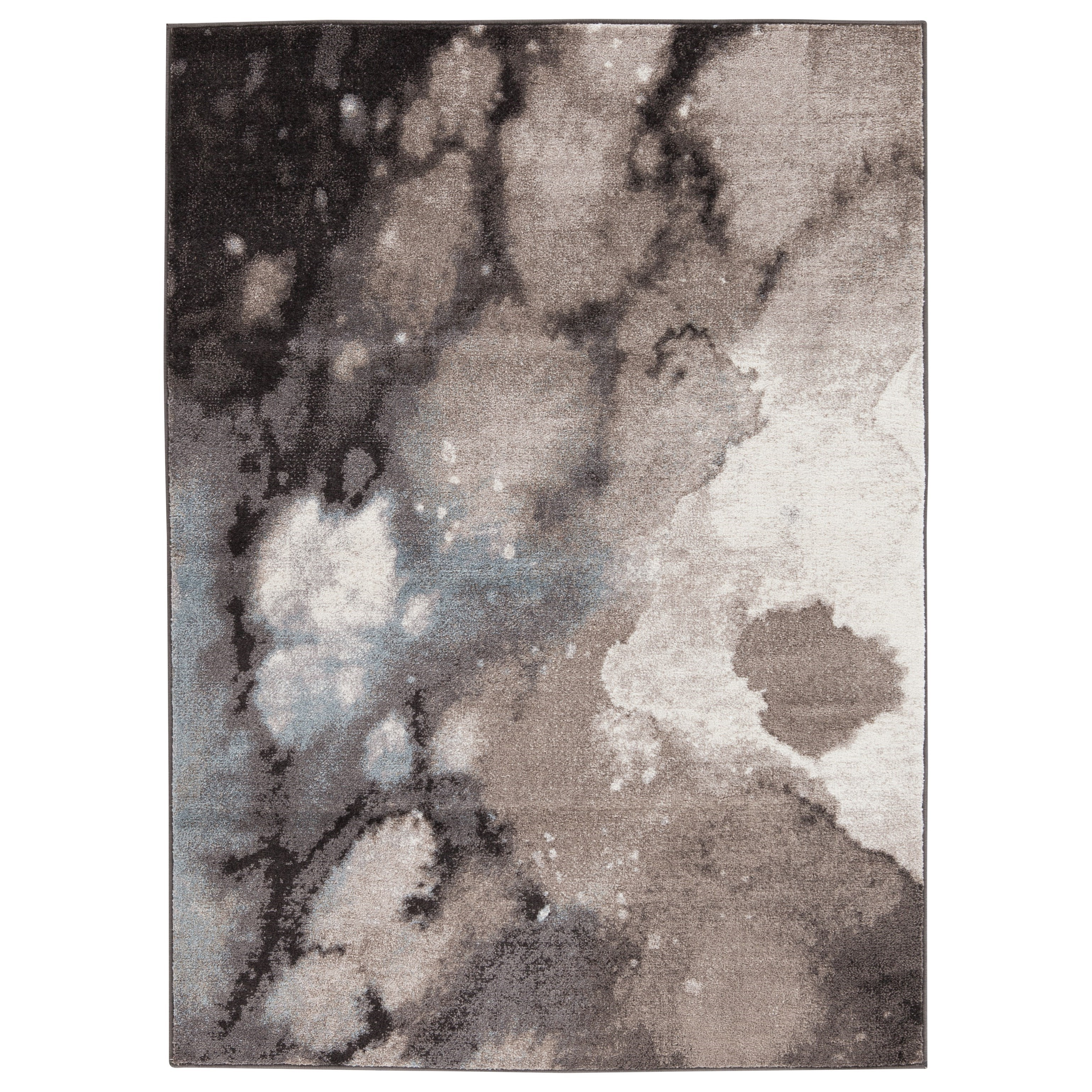 Contemporary Area Rugs Joash Gray Large Rug by Signature Design by Ashley at Suburban Furniture