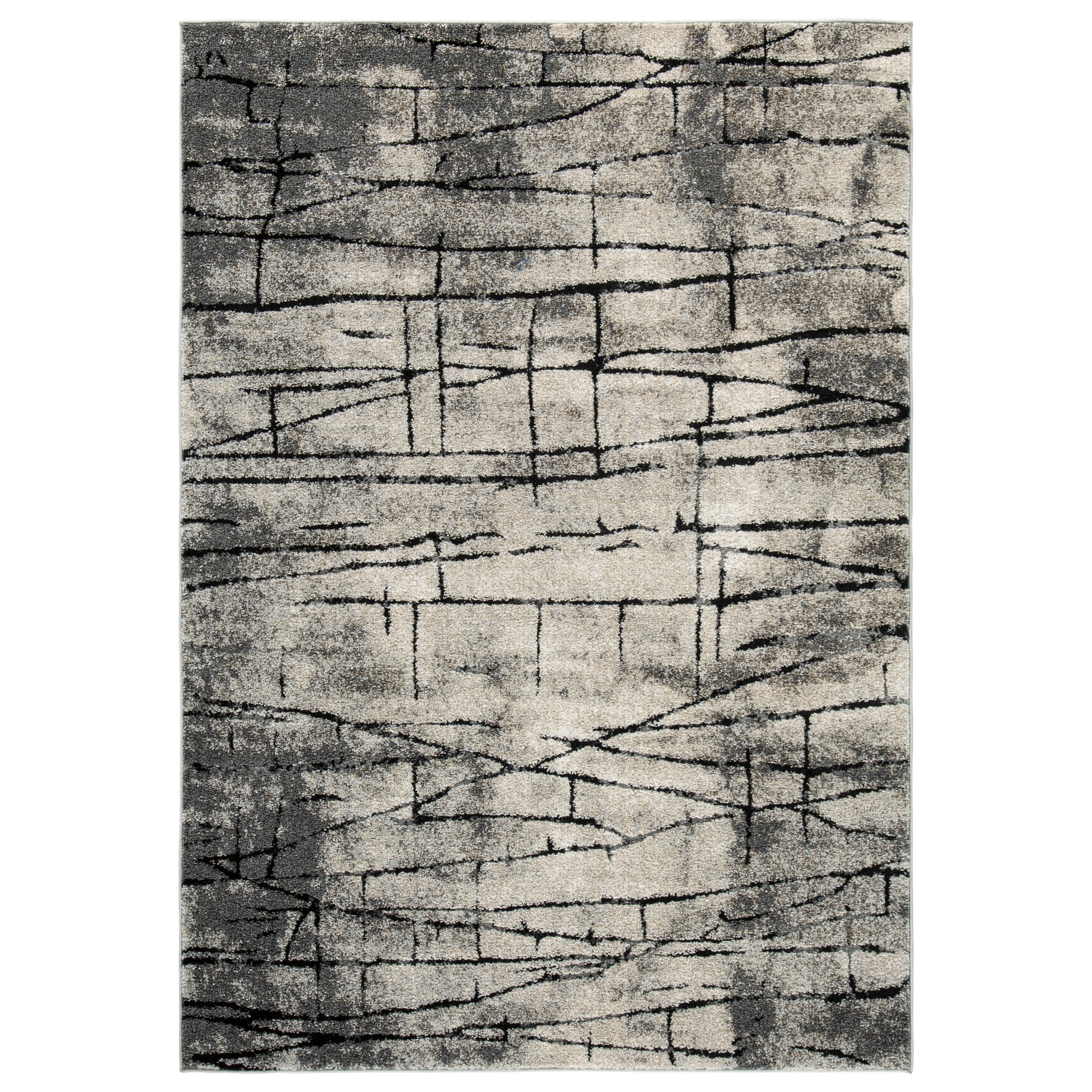 Contemporary Area Rugs Casten Tan Large Rug by Signature at Walker's Furniture