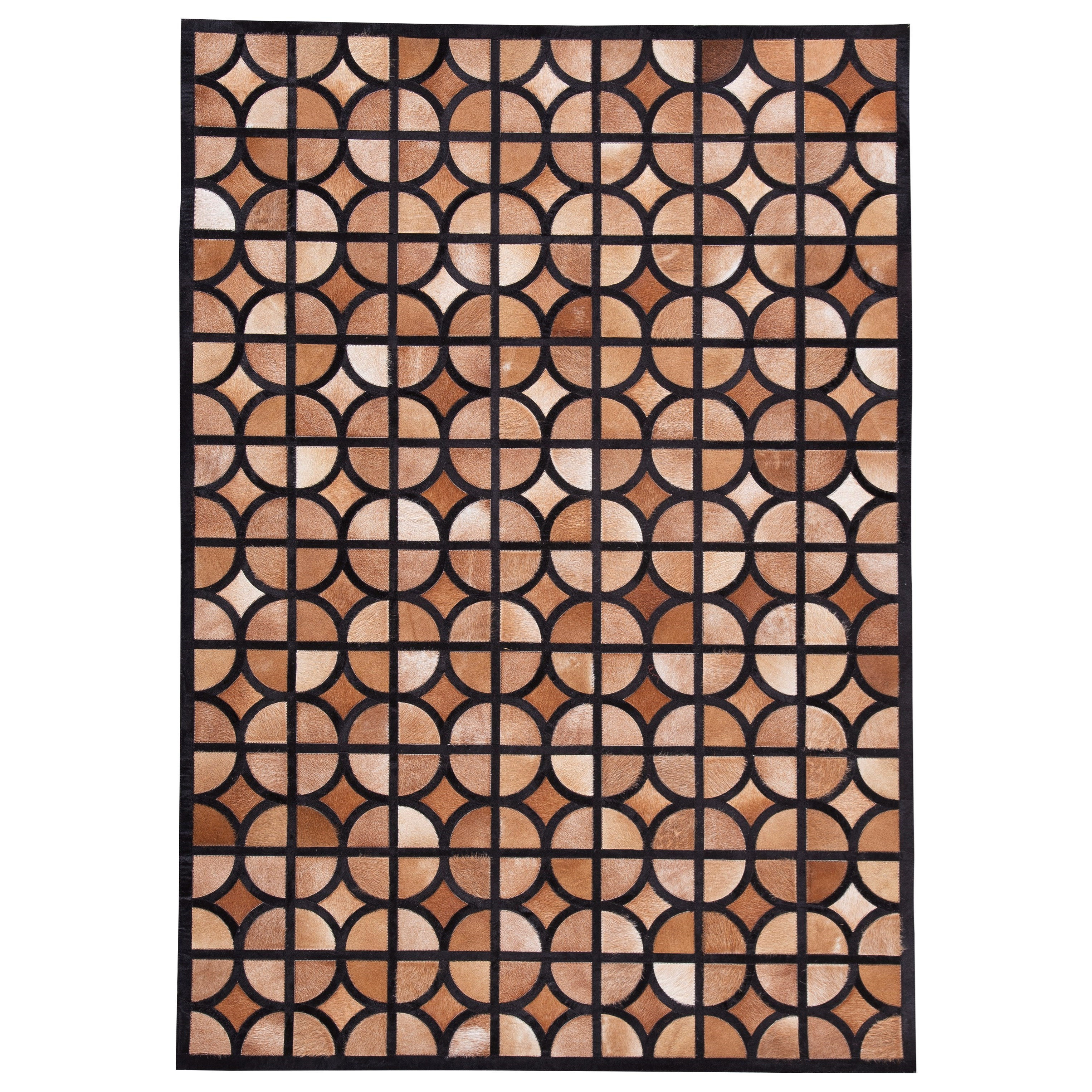 Contemporary Area Rugs Jingjin Black/Brown Large Rug by Signature Design by Ashley at Furniture Barn