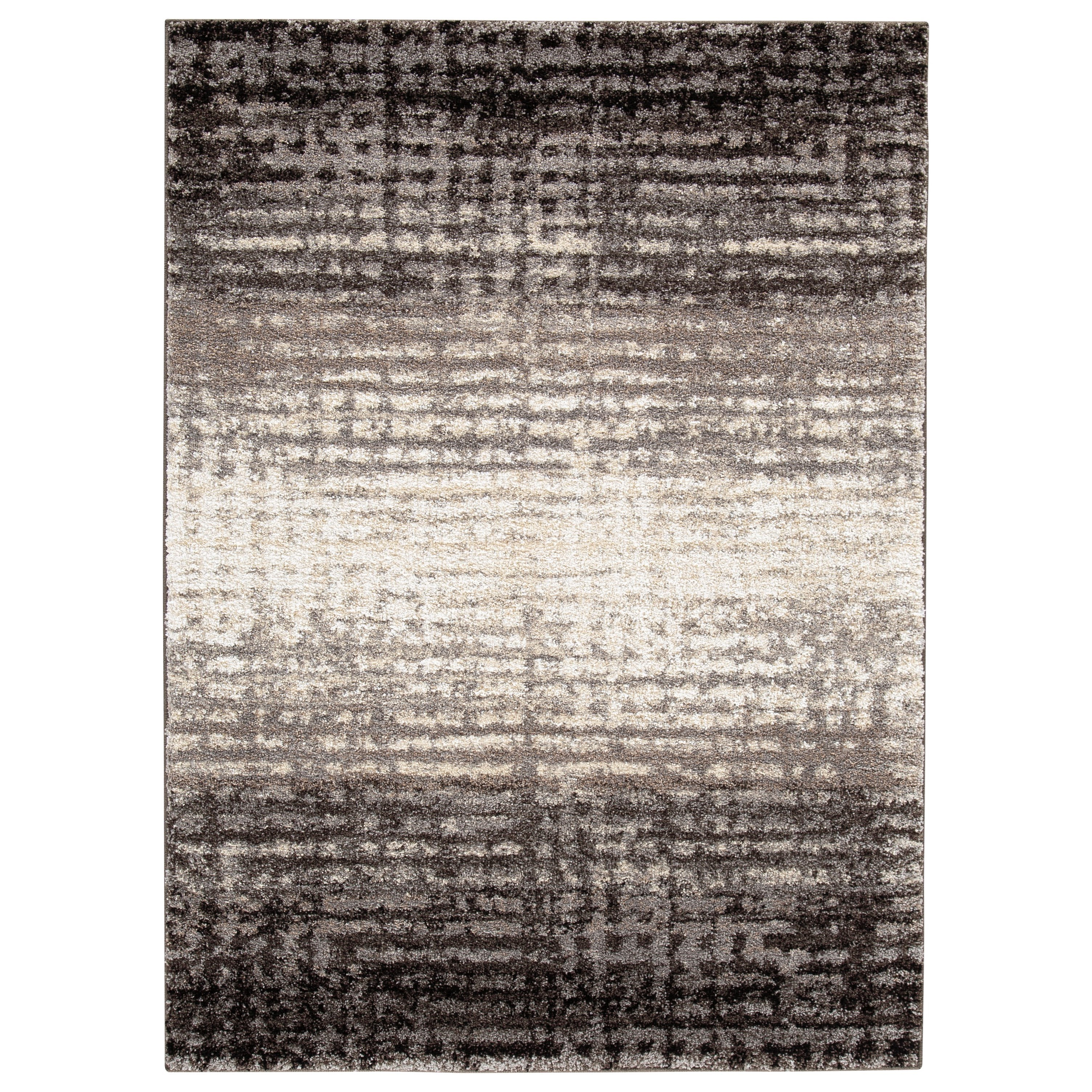 Contemporary Area Rugs Marleisha Black/Natural Large Rug by Signature Design by Ashley at Northeast Factory Direct