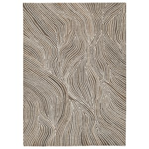 Wysleigh Ivory/Brown/Gray Large Rug