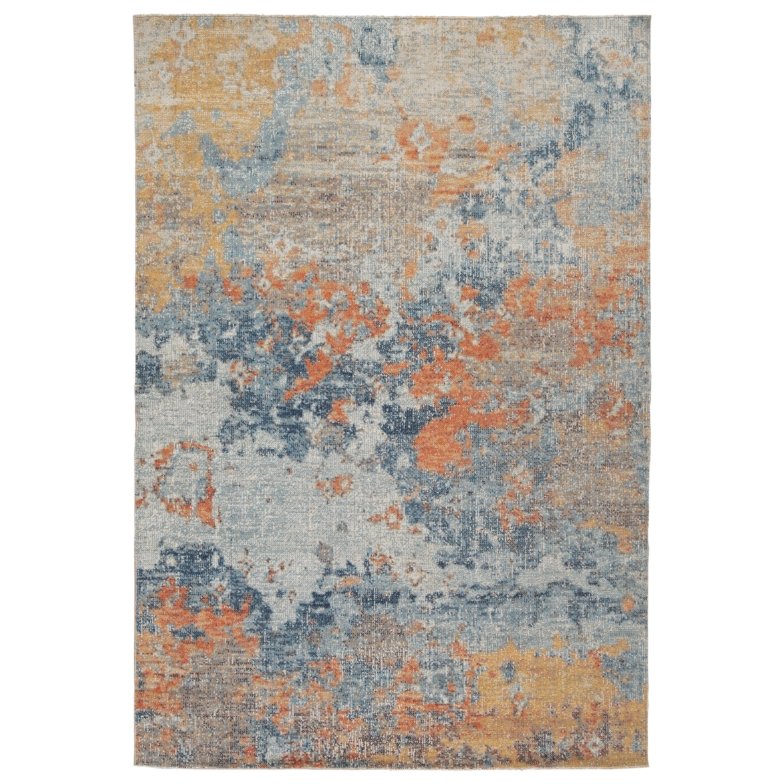 Contemporary Area Rugs Wraylen Indoor/Outdoor Large Rug by Signature Design by Ashley at Smart Buy Furniture