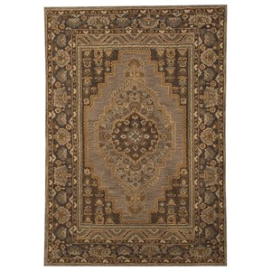 Signature Design by Ashley Traditional Classics Area Rugs Sangerville Tan Large Rug