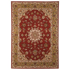 Signature Design by Ashley Traditional Classics Area Rugs Maroney Red Large Rug