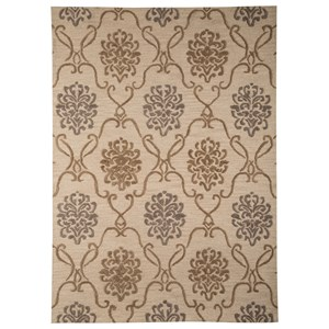 Signature Design by Ashley Traditional Classics Area Rugs Haidar Brown/Gray Large Rug