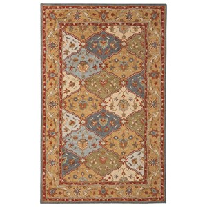 Signature Design by Ashley Traditional Classics Area Rugs Braith Multi Medium Rug