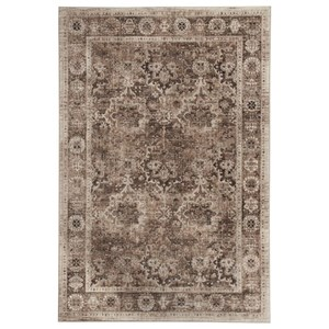 Signature Design by Ashley Traditional Classics Area Rugs Geovanni Stone/Taupe Medium Rug